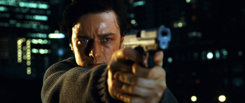 Wesley Gibson a.k.a. El Asesino (James McAvoy)